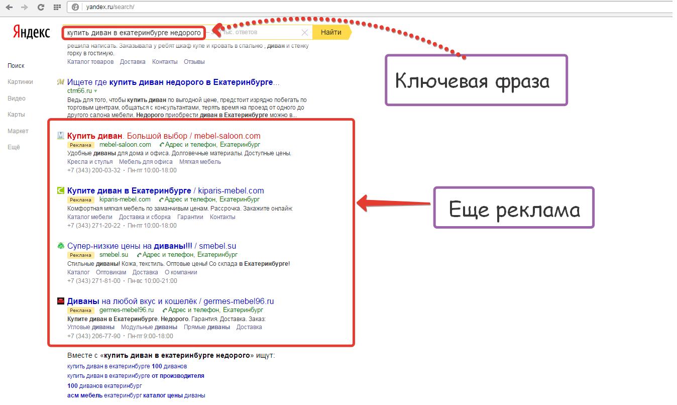 Подать рекламу в яндекс директ пособие реклама в интернете преимущества